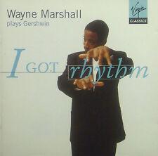 CD WAYNE MARSHALL - plays Gershwin, i got rhythm
