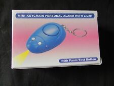 Mini Keychain - Personal Alarm with Light - New - with 2 Batteries Included