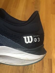 Men's 10 Wilson KAOS 3 Tennis Pickleball Shoes