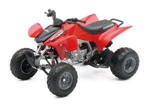 Honda TRX450R ATV (Quad Bike) 1/12 Scale Diecast Metal and Plastic Model