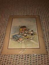 "VINTAGE GARY PATTERSON Tennis  ""Heartbreaker"" 1977 Thought Factory"
