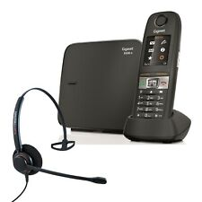 Gigaset E630A Robust DECT Cordless Phone with Corded Headset