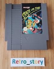 Nintendo NES Skate Or Die PAL