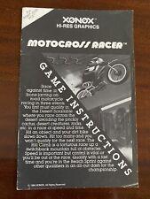 ATARI 2600 Motocross Racer by Xonox Instruction Manual Only