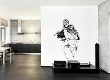 ik227 Wall Decal Sticker Decor girl bikini raspiratore interior bed