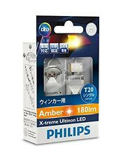NEW PHILIPS Extreme Arutinon LEDT20 Amber WY21 T20 12763x2 With Tracking