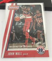 John Wall Panini Threads Serial Number #33 2017-18 Wizards