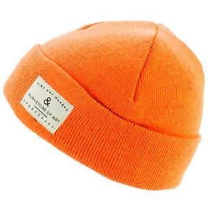 Spacecraft Purveyors Beanie Unisex Knit Cap One Size Orange BRAND NEW