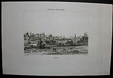 Moskau, Moscou. Seltene Gesamtansicht - Stich - Kupferstich 1837
