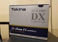 Tokina AT-X PRO 12-28mm f/4 DX AF Lens For Canon