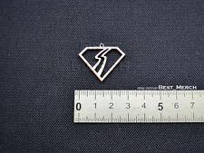 Bon Jovi Necklace stainless steel Slippery When Wet Pendant merch logo symbol