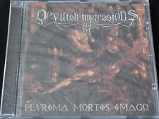 Devilish Impressions - Plurima Mortis Imago SEALED NEW CD CRIONICS ASGAARD GNIDA