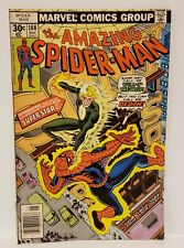 THE AMAZING SPIDER-MAN WILL-O THE WISP MARVEL COMICS 1977 BRONZE AGE #168