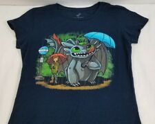 HOW TO TRAIN YOUR DRAGON/MY NEIGHBOR TOOTHLESS Anime, TEEFURY T-SHIRT, TOTORO