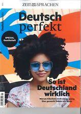 Deutsch perfekt, 04/2021: So ist Deutschland wirklich  +++wie neu +++
