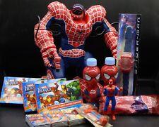 MARVEL SPIDERMAN Movie Toy LOT ToysRus Robosapien TOY BIZ Amazing Spiderman PEZ+