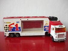 7.2.16.2 Camion truck F1 racing team 1/60 transport auto voiture Majorette