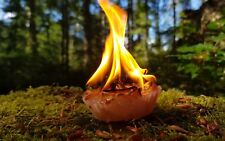 XL Maya FatwoodParaffinWax Fire Cakes x3 Firelighting, Bushcraft, Survival