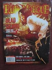 Rue Morgue # 115 Dead Island & Alice Cooper Welcome To My Nightmare