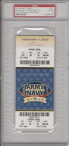 2010 Army Navy Football Ticket Full PSA 4
