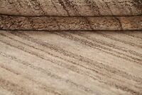 Striped Earth-tone Color Gabbeh Modern Oriental Area Rug Wool Carpet 5x7ft