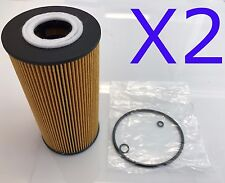 2X Oil Filter Suit R2601P MERCEDES MB100D MB140D SPRINTER 308 312 412 VITO 108