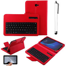 Bluetooth Keyboard Leather Case Cover For Samsung Galaxy Tab A/E/S2/S3 SM-T580 W