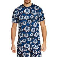 Tallia Sport Mens Floral Crew Neck Tee T-Shirt Top BHFO 5706