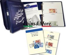 Album Raccoglitore per le BANCONOTE EURO CARTAMONETA da collezione Master Phil