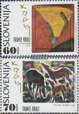 slovenia 121-122 (complete issue) unmounted mint / never hinged 1995 FRANCE Kral