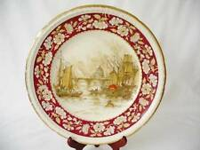 Swinnertons Staffordshire Cabinet / Display Plate - The Pool, London 1830 -