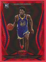 2020-21 Panini Certified James Wiseman Red Rookie RC #199 Golden State Warriors