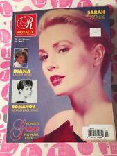 Royalty Magazine VOL.11 #10 Grace of Monaco, Diana, SARAH, ROMANOV, NEAR MINT!!