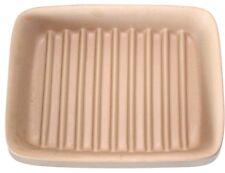 "Pampered Chef 5114 Ridged Rectangle Stonewear Baker Pan 9"" X 6.57"" X 1.75""  GUC"