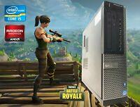 Gaming PC Desktop Computer Intel i5 2400✔8GB✔120SSD✔500GB✔AMD Radeon HD 7400 1GB