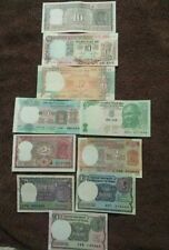 Indian currency  10+10+10+ 5 +5+ 2 + 2 + 1+1+ 1  rupees  MINI  10 notes  set