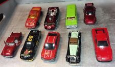9 Vintage 1:64 Cars - Majorette, Hot Wheels, Zee Toys, Summer - Great Condition
