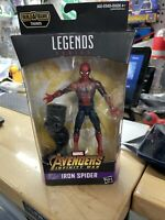 "2018 Hasbro Marvel Legends 6"" IRON SPIDER Action Figure Thanos BAF Avengers"