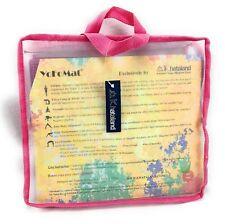 "Khataland YoFoMat Magenta PRO Folding Eco Yoga Mat 72"" L x  24"" W x 1/8"" D"