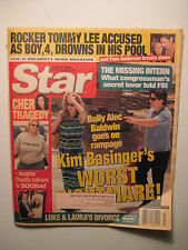 Star Magazine 7-3-2001. Pam Anderson/ Tommy Lee! Kim Basinger/ Alec Baldwin!