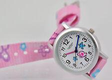 Pallas Kinderarmbanduhr Pink mit Stoffband Armbanduhr Uhr 7425.11.19 Neu