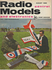 RADIO CONTROL MODELS  AND ELECTRONICS MAGAZINE AUGUST 1969