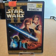 Star Wars II Attack of the Clones  60% OFF 4+ DVD $2 Each