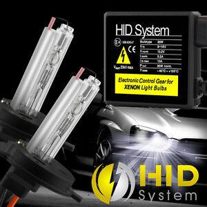 35W HID Conversion Kit H1 H3 H7 H11 9006 5000K 6000k Xenon Light & Slim Ballasts