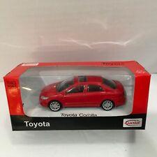 Toyota Corolla Red Rastar 1:43 Scale Replica Car Die Cast Auto