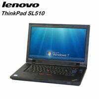 Cheap 15.6 inch Laptop Lenovo Thinkpad SL510 2GB RAM 80GB HDD Windows 7 Grade B