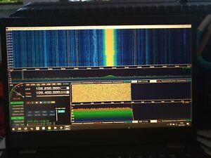 RTL-SDR 100kHz-1.7GHz Vollen Empfänger Band FM Radio UV HF USB Tuner Reciever DE