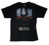 30 Days Of Night Movie Promo Graphic Tee Shirt Size Med Vtg Horror USA Made