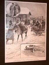 Guerra Russia Giappone nel 1904 Ferrovia Transiberiana Polizia Blagovestchensk