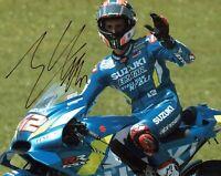 Alex RINS 2019 SIGNED MOTOGP Autograph 10x8 SUZUKI Photo 3 AFTAL COA